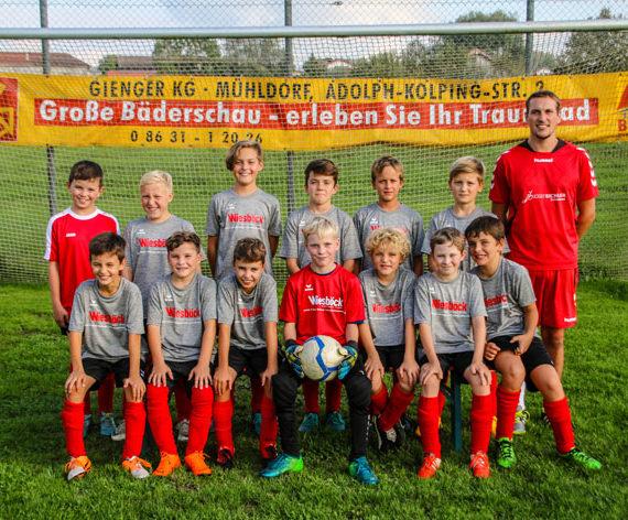 SV Schonstett: Neue Trikots für unsere E-Jugend