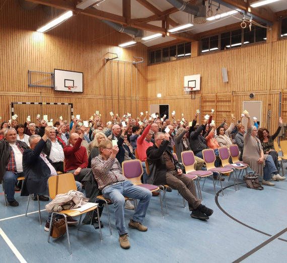 Bericht über die Dorfladen Info- und Gründungsveranstaltung