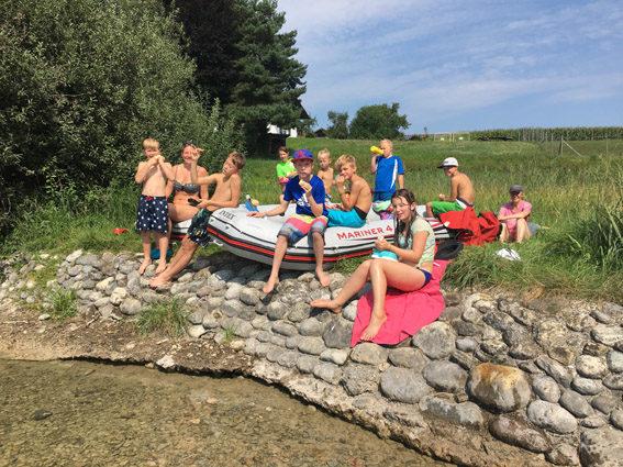 Ferienprogramm Alzfahrt